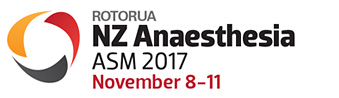 NZ Anaesthesia ASM 2017