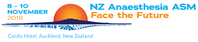NZ Anaesthesia ASM 2018
